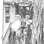 Photo showing the devastation