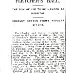 Fletchers Mill Ball Newspaper Report - February 1935